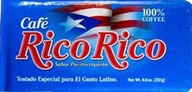 Cafe  Rico Rico PR Coffee Logo