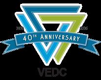 VEDC Tri State 40th Anniversary Logo